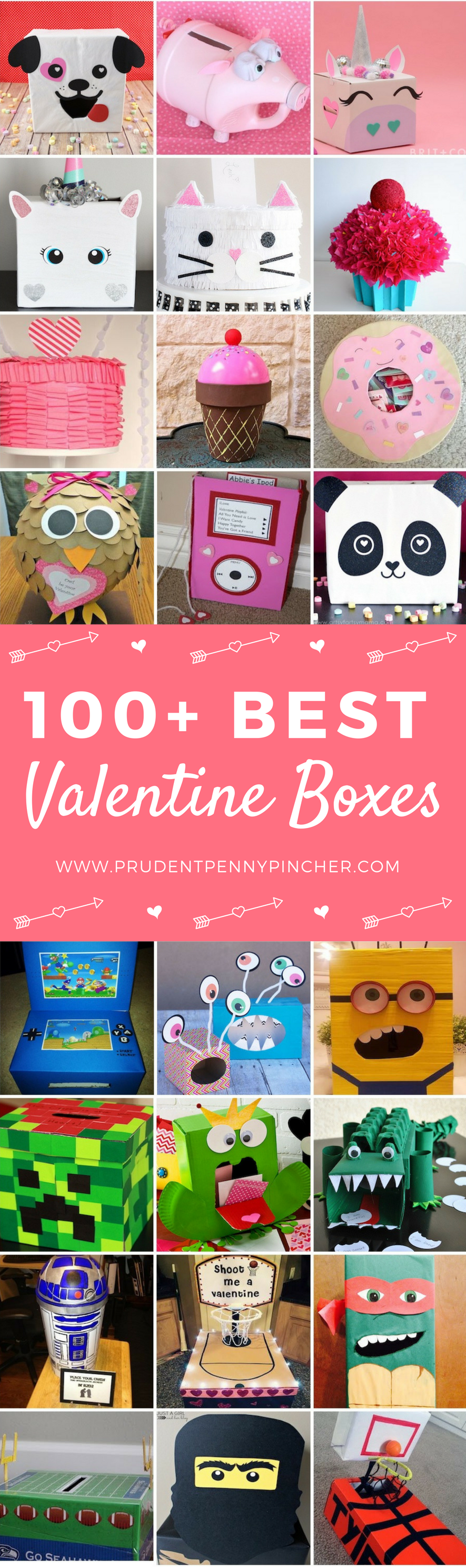 100 Best Valentine Box Ideas Prudent Penny Pincher