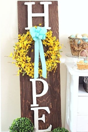 50 Best Diy Outdoor Easter Decorations Prudent Penny Pincher