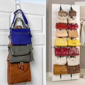 Hanging Purses On Over The Door Hooks