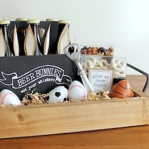 60 best diy easter basket ideas prudent penny pincher easter basket for men from evite negle Gallery