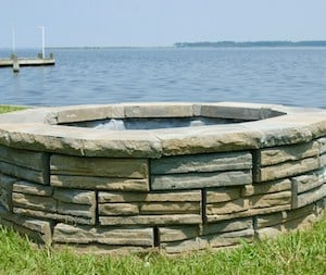 Retaining Wall Block Fire Pit