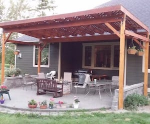 Diy Covered Patio From Kenarry