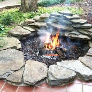 Flat Rock Fire Pit