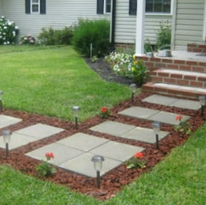 Front Yard Walkway Ideas