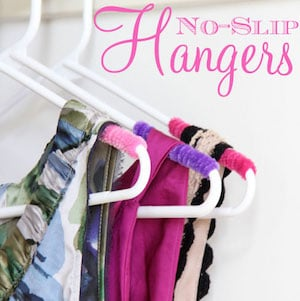 Pipe Cleaners No Slip Clothes Organization