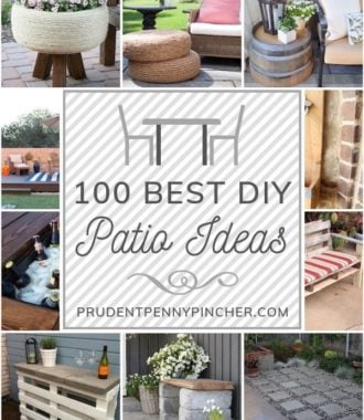 100 Best DIY Outdoor Patio Ideas