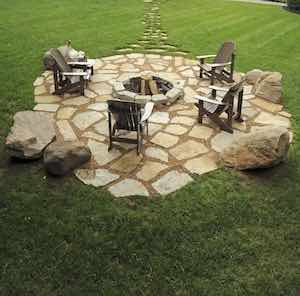 Diy Fire Pit And Seating Area From Instructables