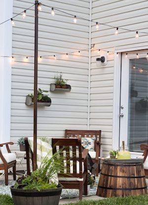 Small Patio Makeover From Blesser House
