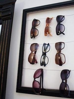 Sunglasses Wall Organizer