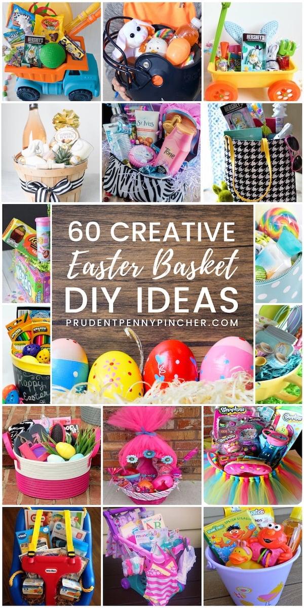 60 Creative DIY Easter Basket Ideas