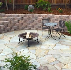 Backyard Paver Patio From The Romidels