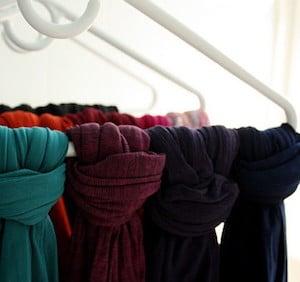 Clothes Hanger for Scarves