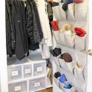 Winter Accessory Over the Door Shoe Organizer