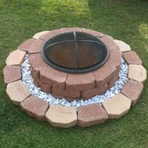 Multi Level Fire Pit for Kids
