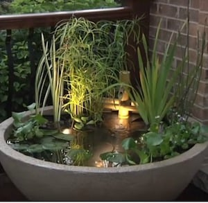 Easy Patio Water Garden From DIY U0026 Crafts