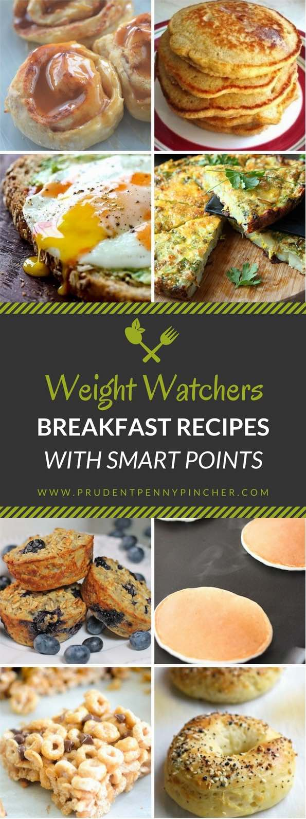 Weight Watcher Breakfast Recipes With Smart Points