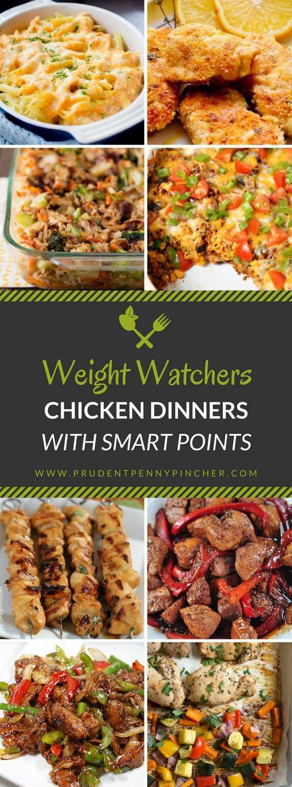 Weight Watcher Chicken Recipes With Smart Points