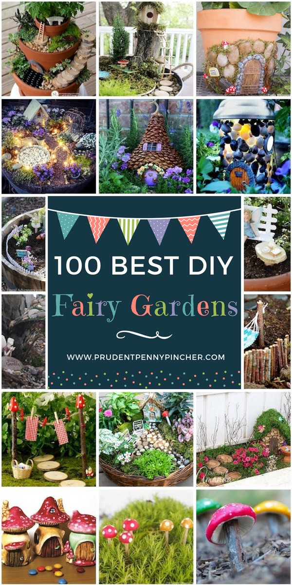 Exceptionnel 100 Best DIY Fairy Garden Ideas