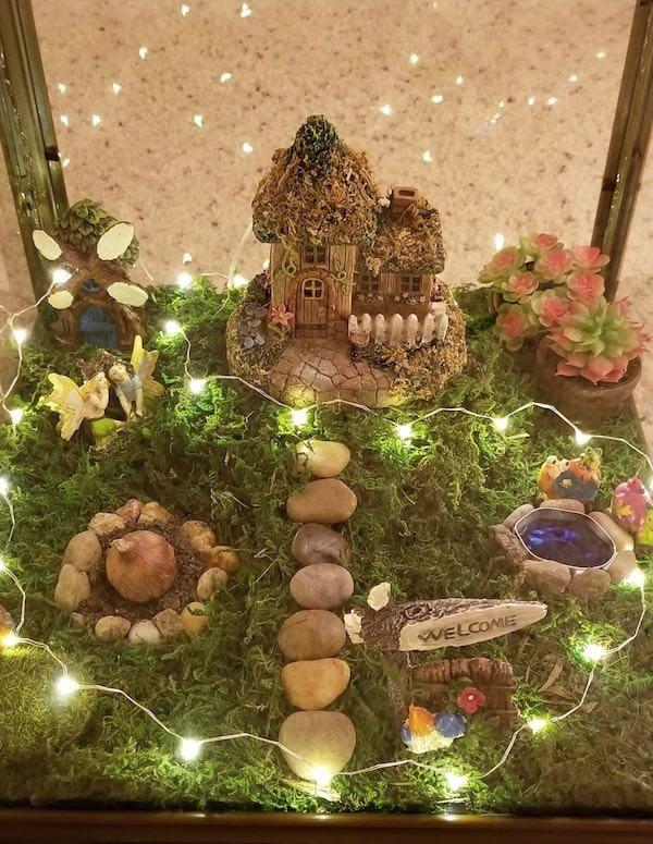 Dollar Store DIY Fairy Garden Lantern