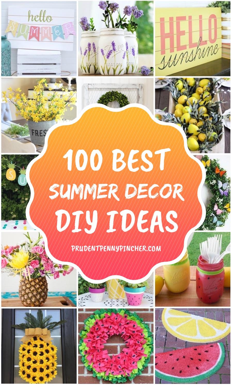 100 Best Diy Summer Decor Ideas Prudent Penny Pincher