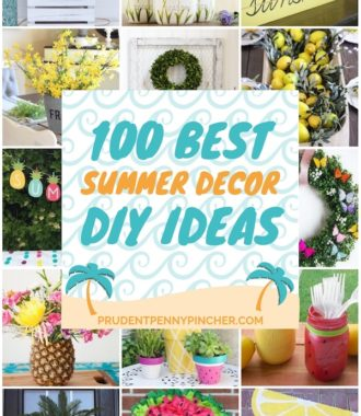 100 Best DIY Summer Decor Ideas
