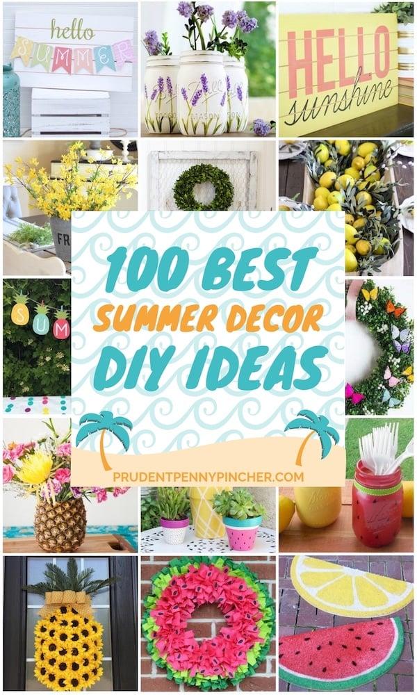 100 Best DIY Summer Decor Ideas