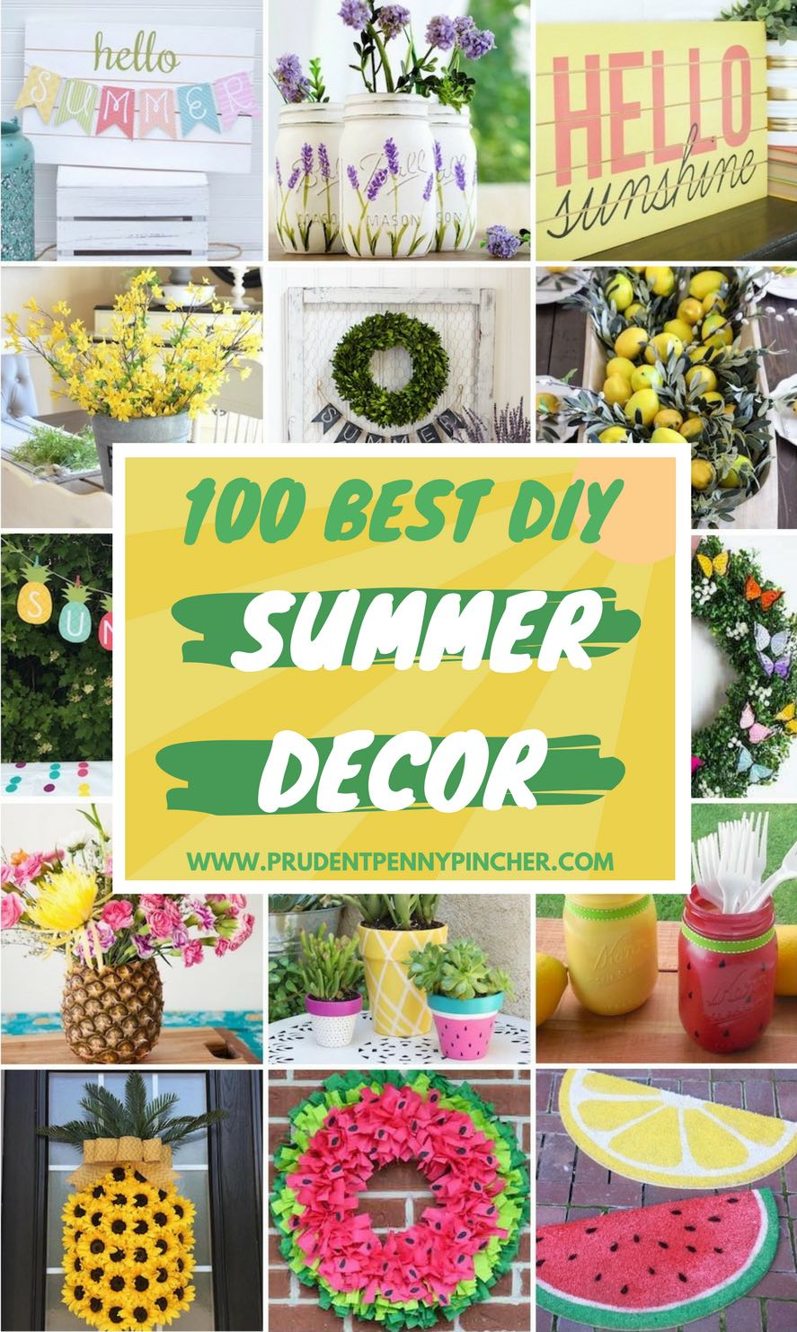 3 Home Decor Trends For Spring Brittany Stager: 100 Best DIY Summer Decor Ideas