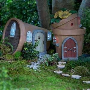 DIY Stone Fairy House From The Fairy Garden