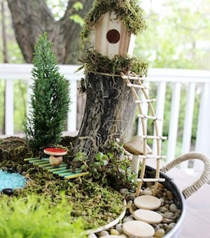 Affordable Fairy Garden From Mommy Moments