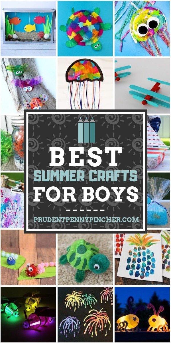 Best Summer Crafts for Boys