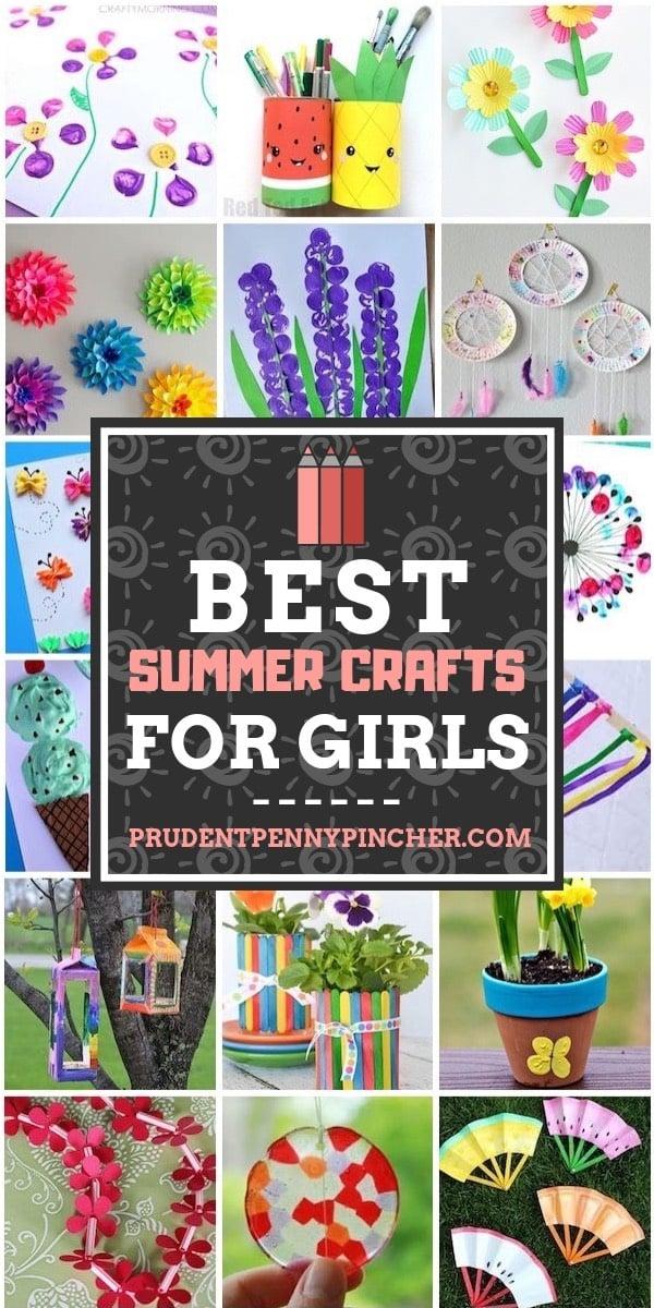 Best Summer Crafts for Girls