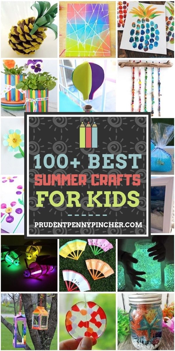 100 Best Summer Crafts for Kids