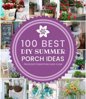 100 Best DIY Summer Front Porch Ideas