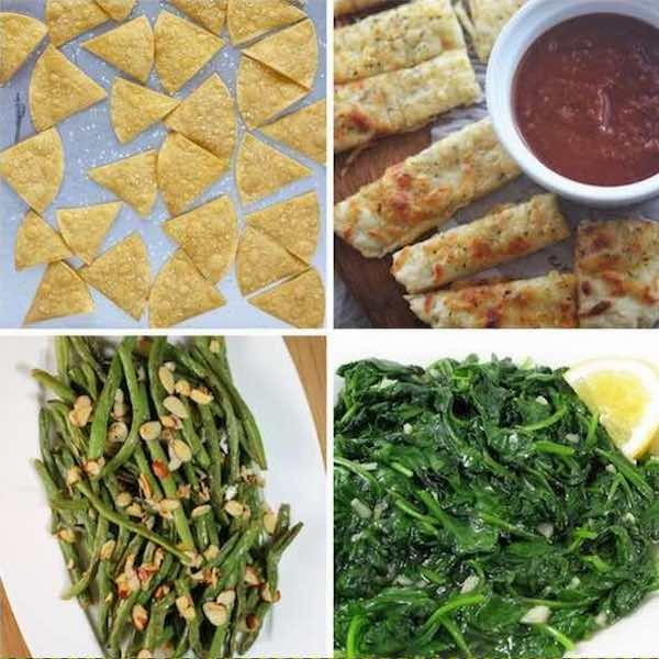 weight watchers side dishes