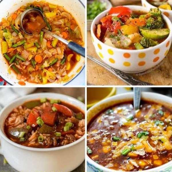 weight watcher soup recipes