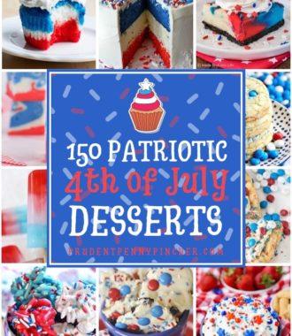 150 Patriotic 4th of July Desserts