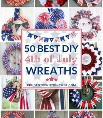 50 Best DIY 4th of July Wreaths
