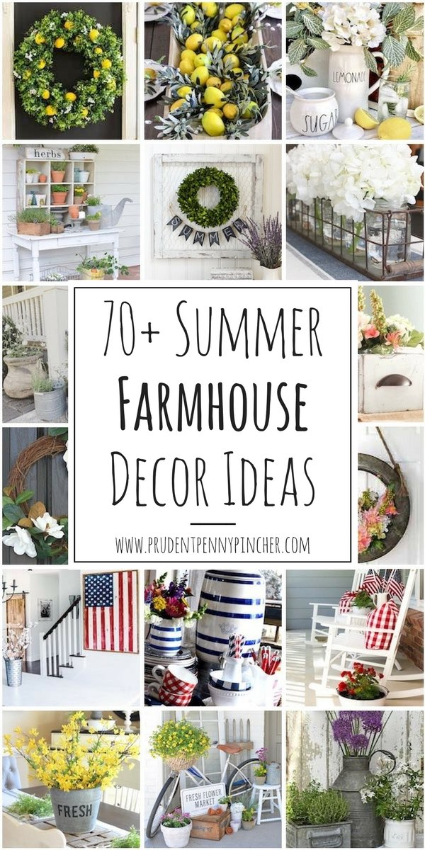 70 Best Summer Farmhouse Decor Ideas
