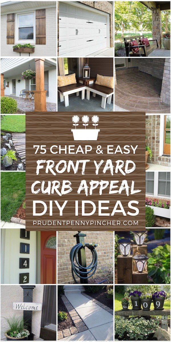 75 cheap and easy front yard curb appeal ideas prudent - Simple front yard landscaping ideas on a budget ...