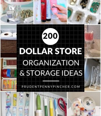 200 Dollar Store DIY Organization Ideas
