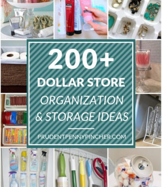 200 DIY Dollar Store Organization Ideas
