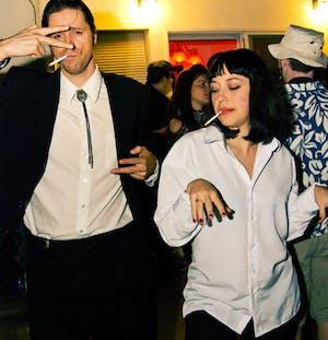Pulp Fiction halloween costume