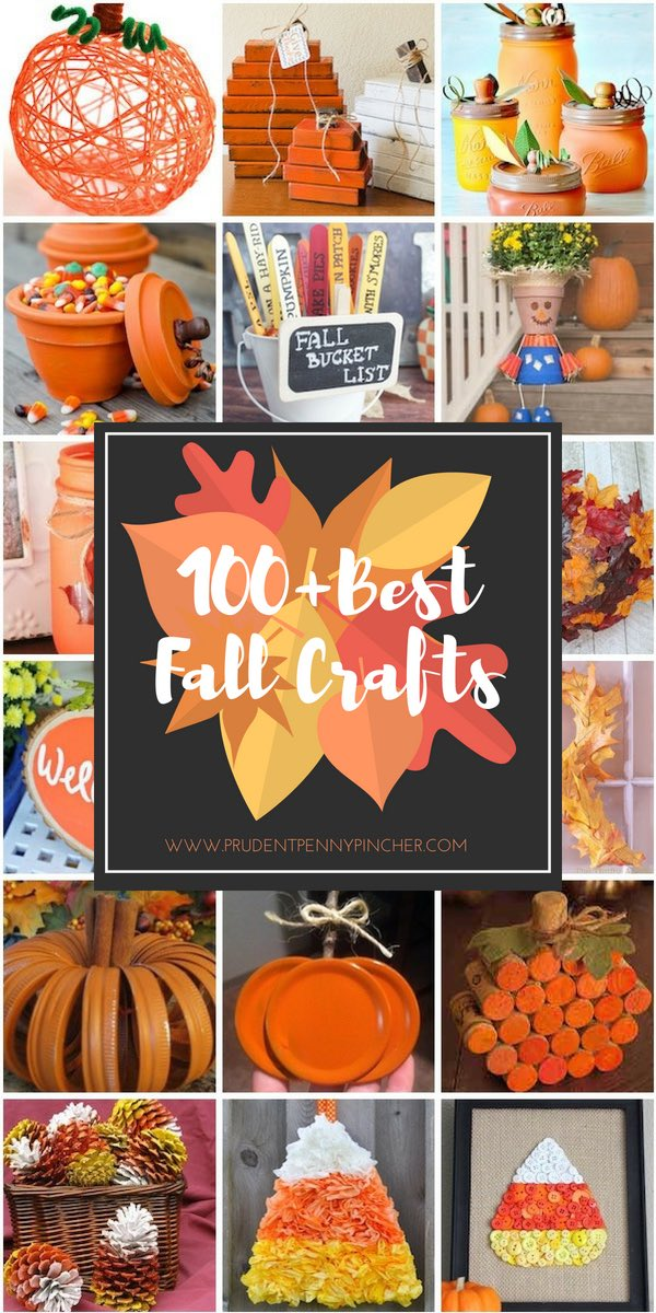 marvelous Fall Crafts For Seniors Part - 1: 100 Best Fall Crafts