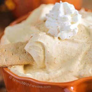 Fluffy Pumpkin Pie Dip