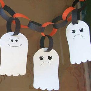 paper Ghost Garland
