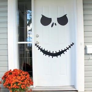 Jack Skellington Halloween Door decoration