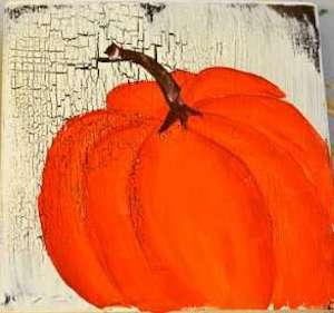 Painting Pumpkins Art