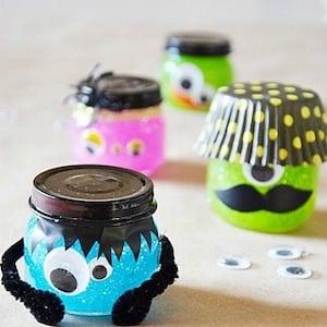Glitter Slime Monster Jars