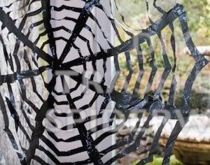 Trash Bag Spiderweb