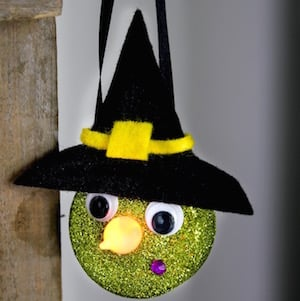 Tea Light Witch